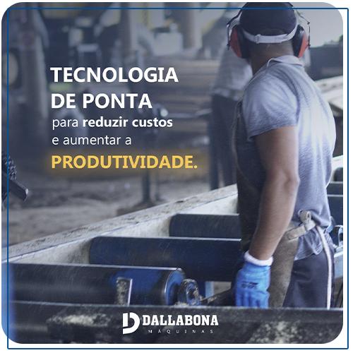 Tecnologia de ponta para reduzir custos e aumentar a produtividade.